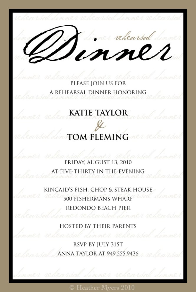 Business Dinner Party Invitation Wording – Free Printable Dinner Party Invitations