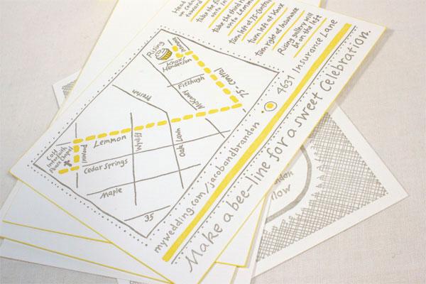 Basic Wedding Map