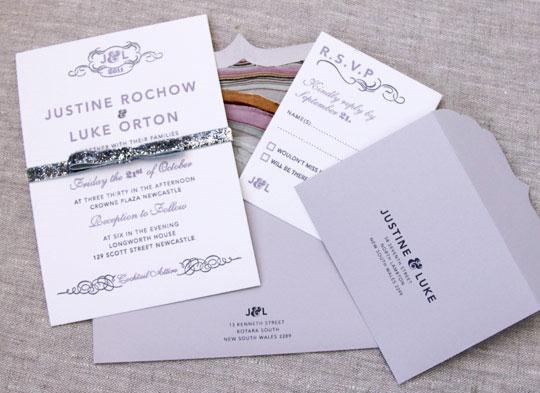 Invitaciones De Boda 2016 Light Purple Free Personalized Printing Laser Cut Lilac Wedding Invitations With Ribbon