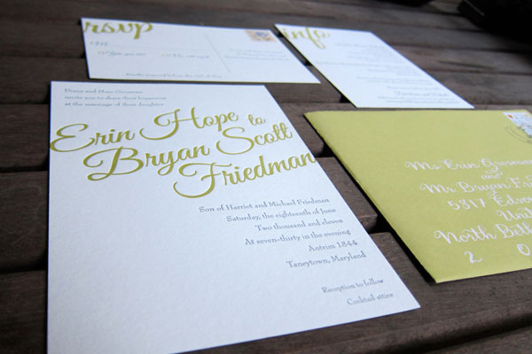 Typography Wedding Invitations To Inspire You How Make Your Invitation With Winsome Appearance 10