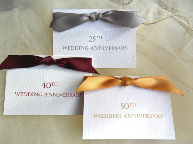 Save Date Cards Ruby Wedding
