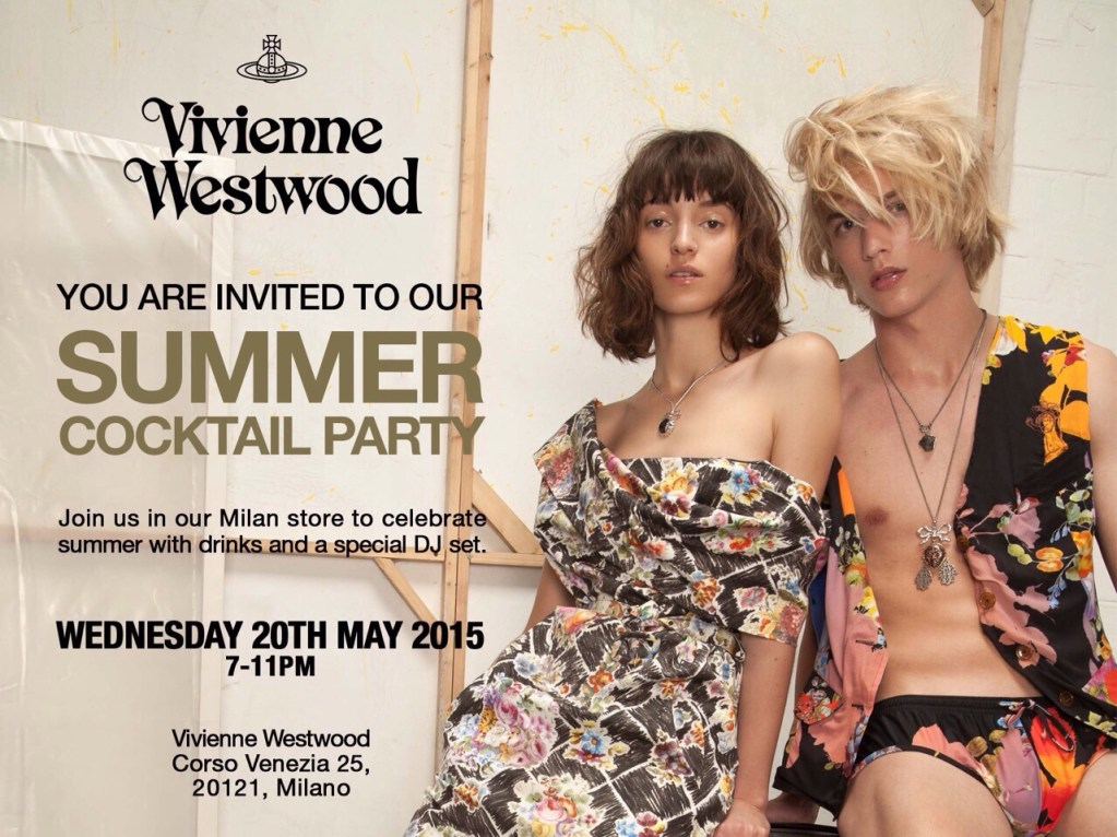 Vivienne Westwood Cocktail Party