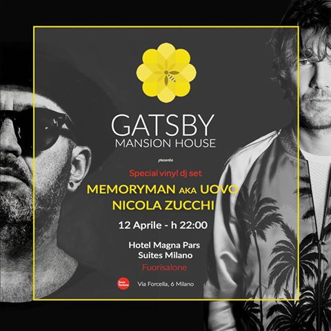 12.04 HOTEL MAGNA PARS Milano / OPENING Gatsby Mansion House