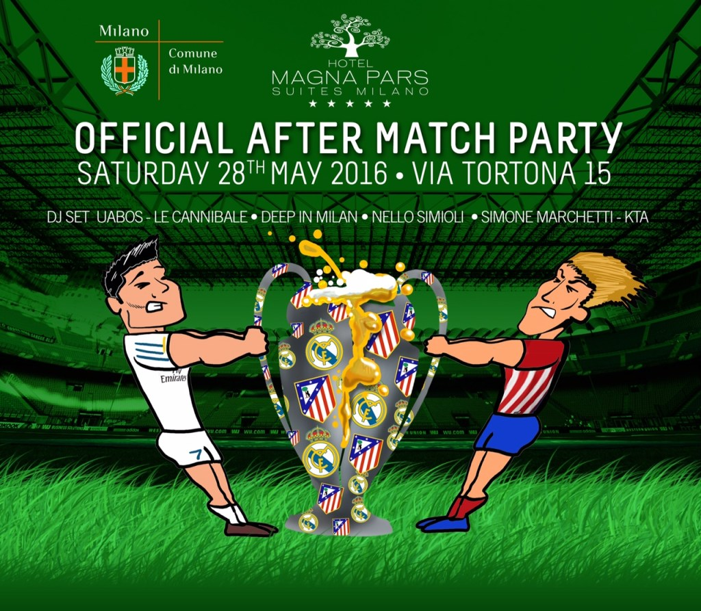 28.05 Final Champions League Official After Party / Hotel Magna Pars