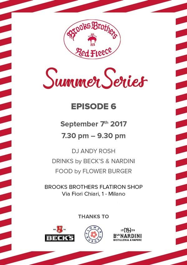 07.09 BROOKS BROTHERS SUMMER SERIES EP.6