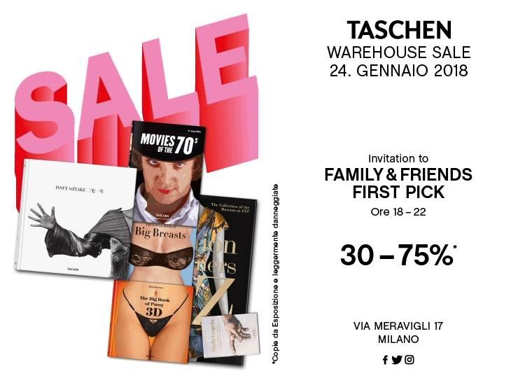 24.01.18 Taschen Warehouse PreSale