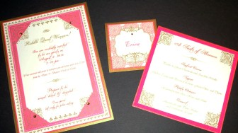Moroccan Party Stationery