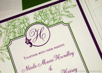 Nicole Wedding Invitation