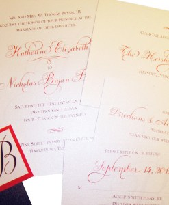 Kate Wedding Invitation Suite