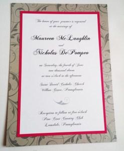 Maureen Wedding Invitation