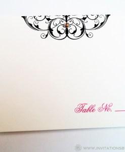 Janelle Escort Card
