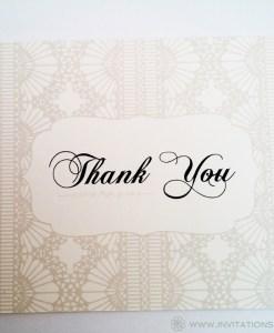 Kaitlin Thank You Card