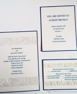 Karen T. Wedding Invitation Suite