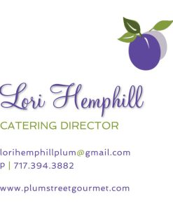 catering company director business card
