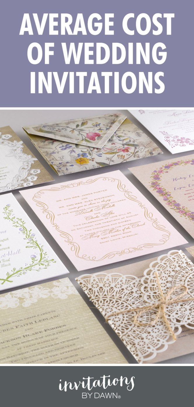 Here Is All What You Wish To Know About Wedding Invitations Cost And Options Available