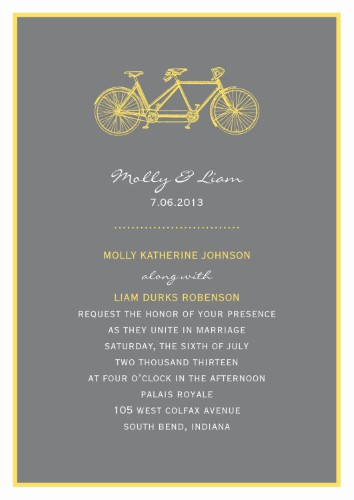 Black And White Wedding Invitations Starry Nights On Your Invite