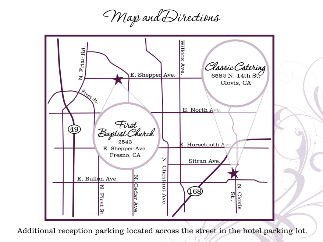 How To Create A Printable Map For Wedding Invitation | Inviview.co