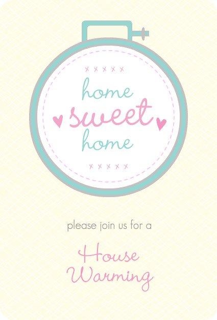 Free Printable Housewarming Invitations