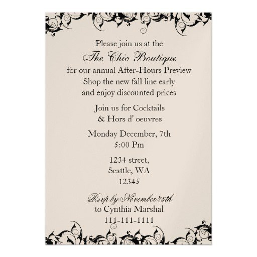 Corporate Meeting Invitation Wording Wedding Invitation Sample – Corporate Invitation Text