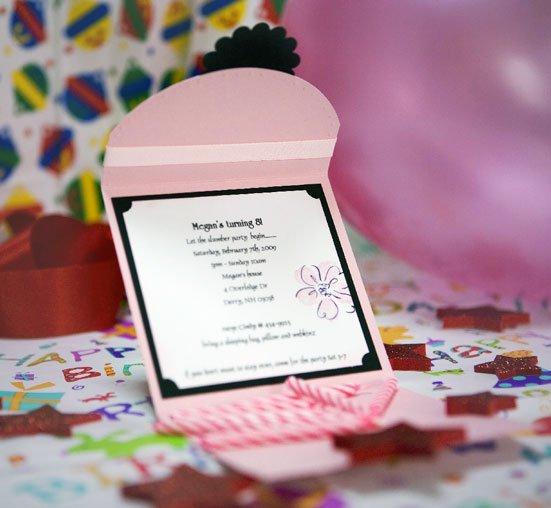 Handmade Birthday Invitation Cards Designs – Handmade 40th Birthday Invitations