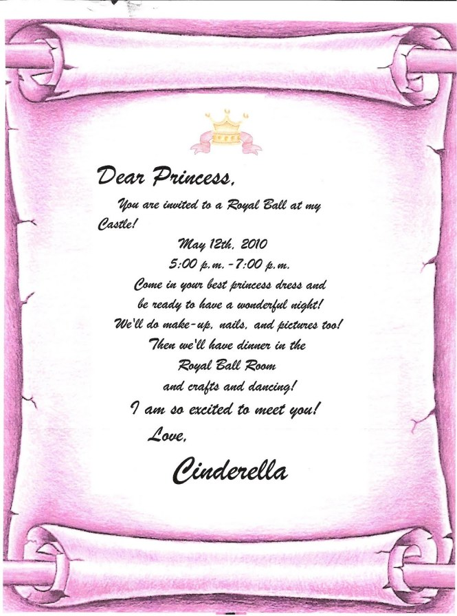 Princess party invitation wording dress up cogimbo princess party invitation wording gangcraft net stopboris Image collections