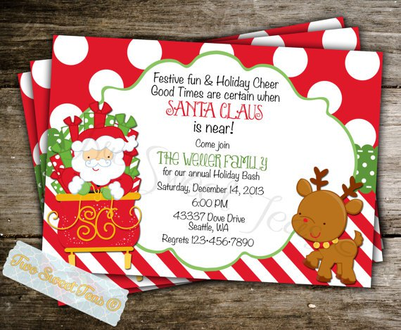 Holiday Brunch Invitation