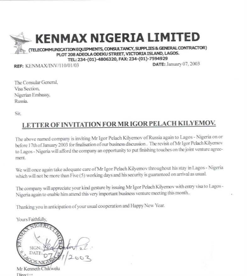 Cover Letter Format For Visa Application Docoments Ojazlink