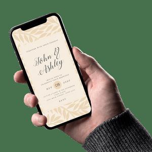 Christian Wedding Invitation 002
