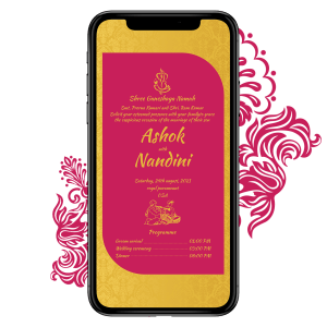 Invites Cafe Hindu Wedding Invitation 004