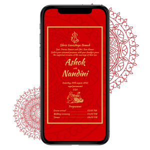 Invites Cafe Hindu Wedding Invitation 010