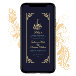 Invites Cafe Muslim Wedding Invitation 002