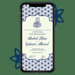 Invites Cafe Muslim Wedding Invitation 004