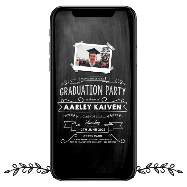 Invites Cafe Graduation Party 004