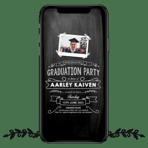 Invites Cafe Graduation Party 004