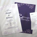 Wedding Anniversary Invitation- Invites Cafe