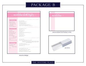Resume Package B