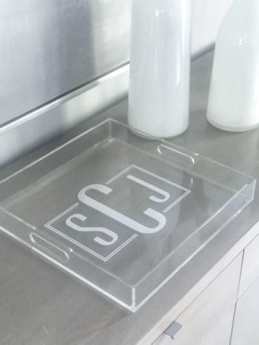 Lg. Square Handled Tray