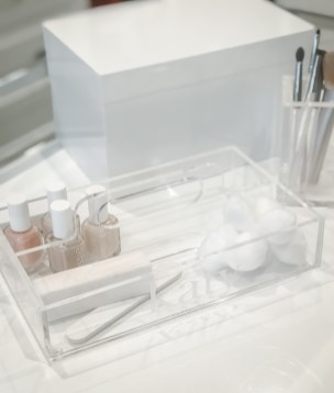 Acrylic Painter's Tray / $38