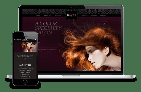 now-creative-web-design-portfolio-razz-salon