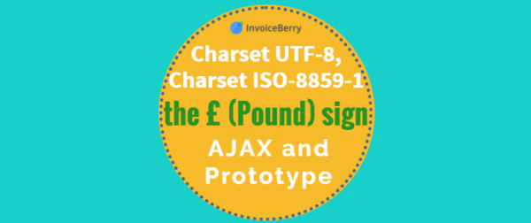 Check out our blog to find out about Charset UTF-8, Charset ISO-8859-1, the £ (Pound) sign, AJAX and Prototype…
