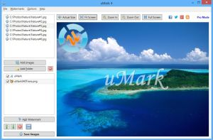 uMark Lite watermark software
