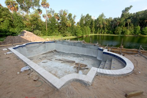 pool construction business