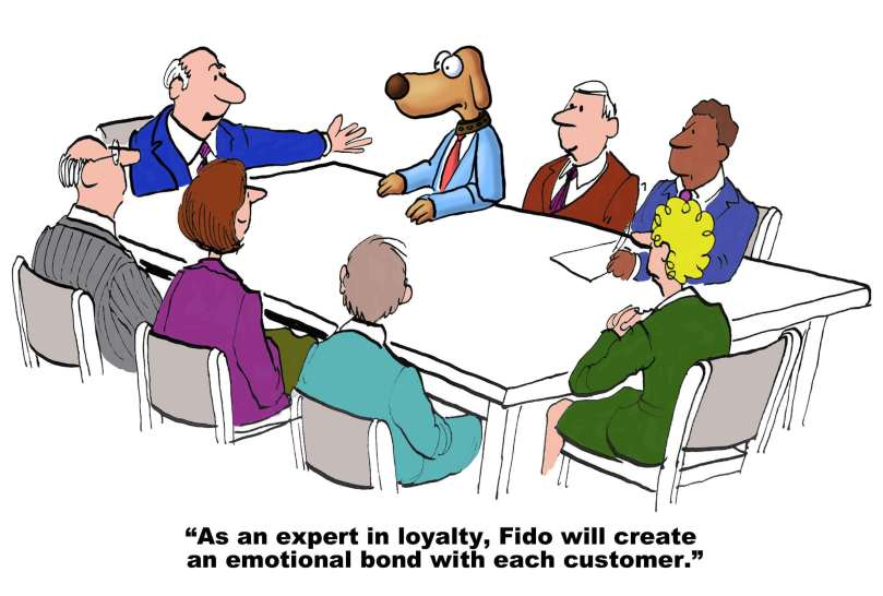Be nice to your small business clients and they will be loyal to you