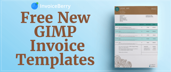 Check out our all new, free new GIMP invoice templates and show off your personality and professionalism