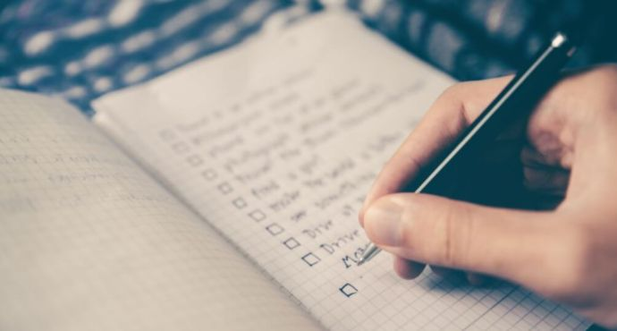 Checklist is nice to have when looking for the right employee.