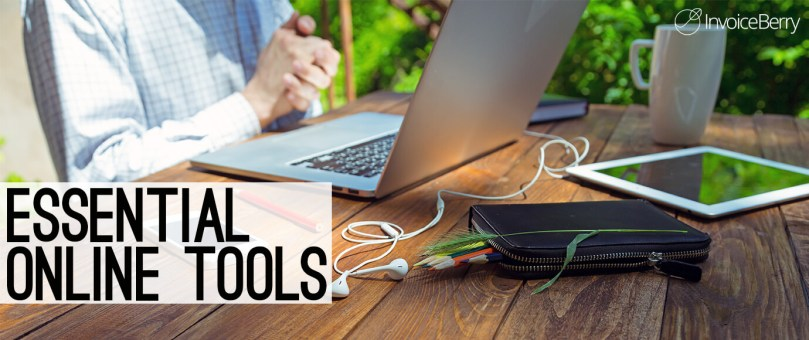 List of all the essential online tools for a business owner or a freelancer.