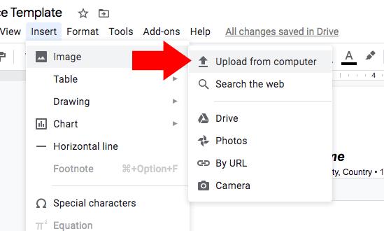upload-google-docs-invoice
