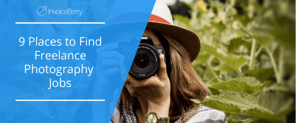 9 places to find freelance photography jobs