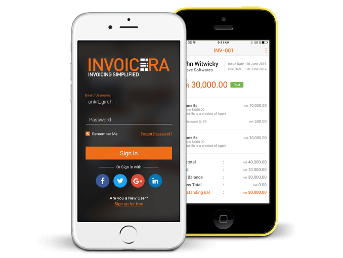Best invoice app for ios   iPhone invoicing app invoice app for ios