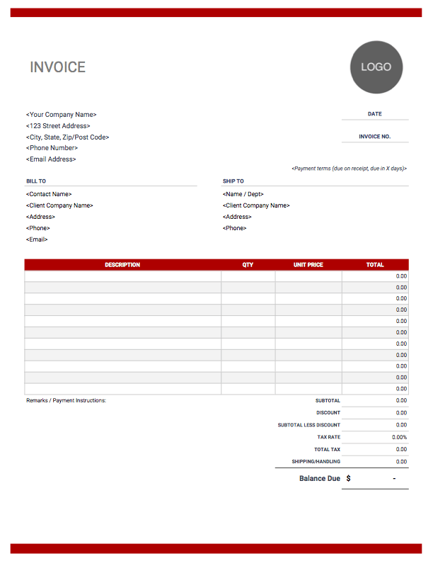 Use our template and tips to write your own sales plan. Excel Invoice Template Free Download Invoice Simple